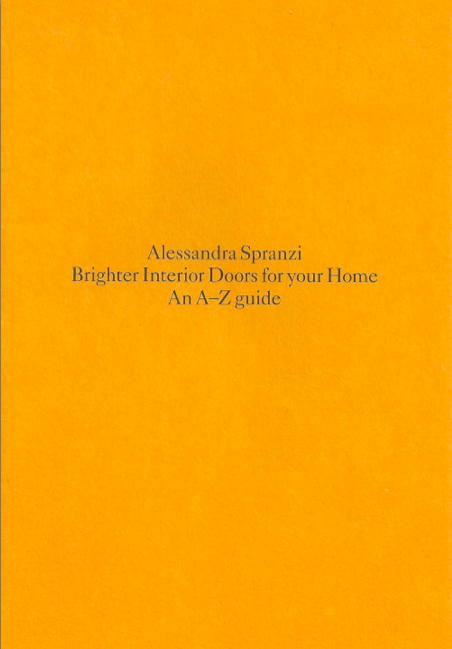 Alessandra Spranzi - Brighter Interior Doors for your Home. An A-Z guide